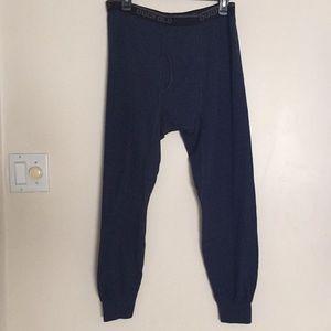 Champion Duofold Ski long underwear pants L